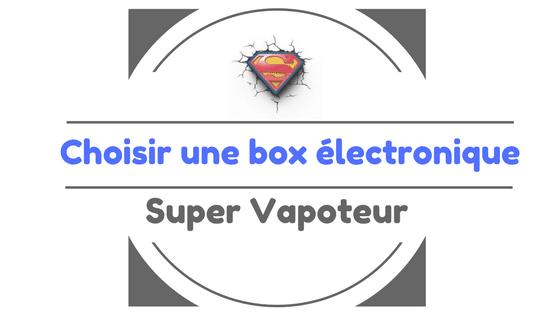 box électronique