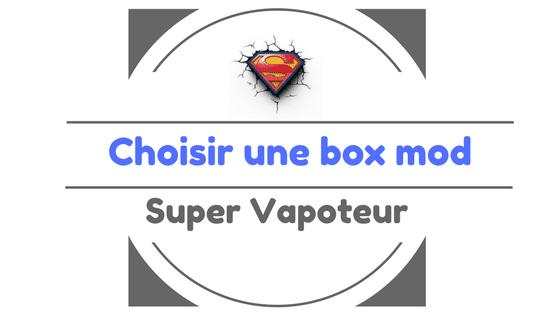 box mod vape